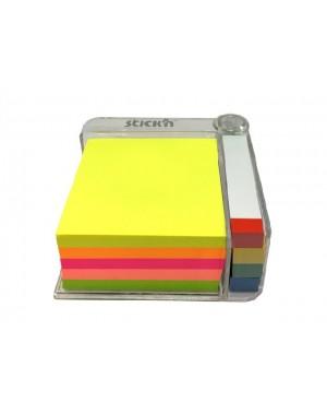 Notas adhesivas para escritorio neon Stickn