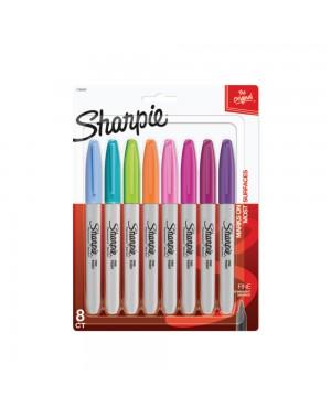 sharpie marcador colores fashion blister x 8