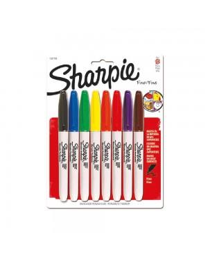 sharpie marcador colores básicos blister x 8