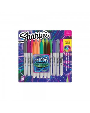 sharpie marcador colores cosmicos blister x 16